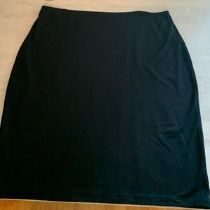 Black pencil 4 way stretch Skirt COMFY!!